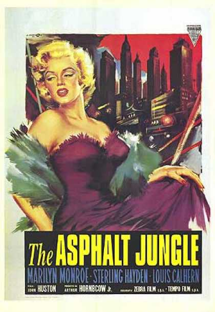 Essential Movies - Asphalt Jungle Poster