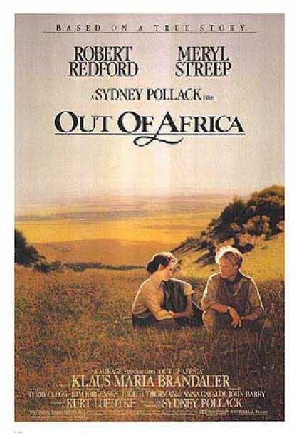 Essential Movies - Out Of Africa Poster
