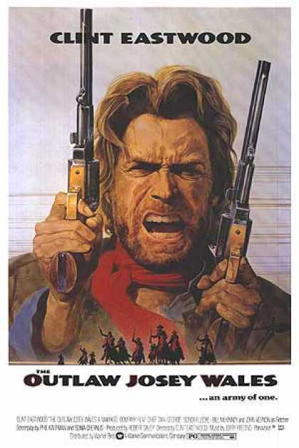 Essential Movies - Outlaw Josey Wales Poster