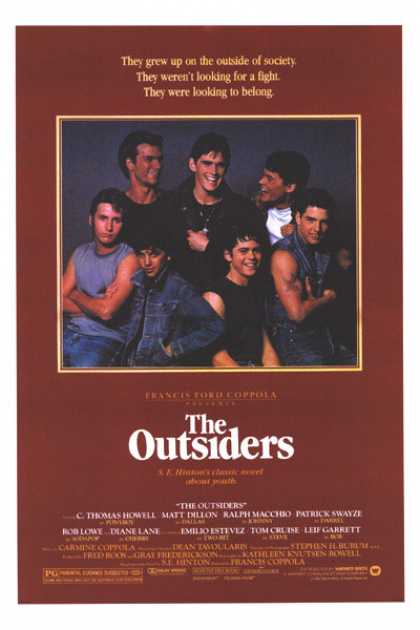 Essential Movies - Outsiders Poster