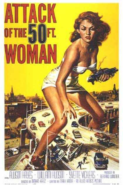 Essential Movies - Attack Of The 50 Foot Woman Poster