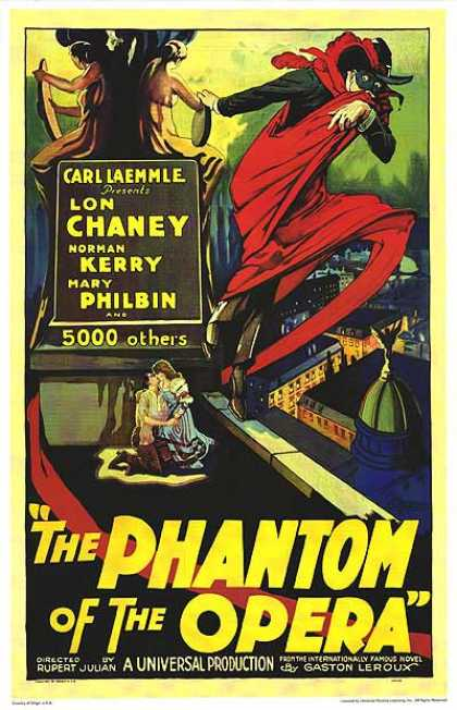 Essential Movies - Phantom Of The Opera Poster