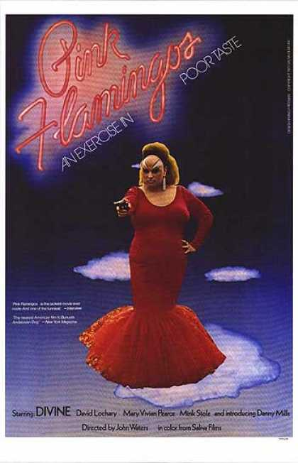 Essential Movies - Pink Flamingos Poster