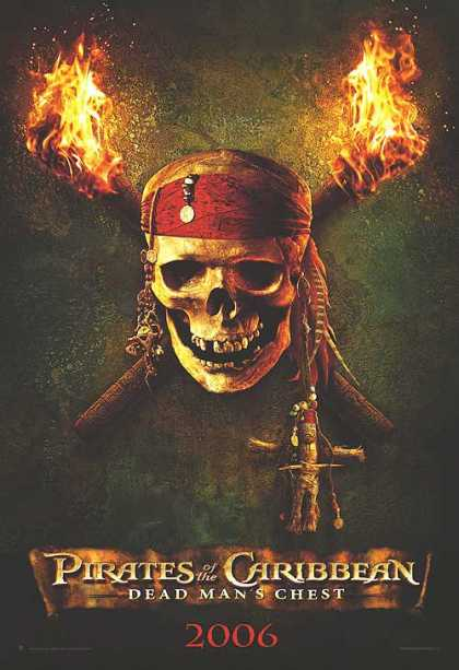 Essential Movies - Pirates Of The Caribbean: Dead Man's Chest Poster