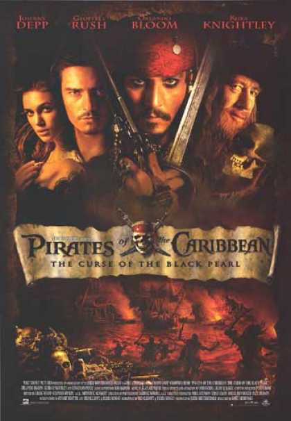 Essential Movies - Pirates Of The Caribbean: The Curse Of The Black Pearl Poster