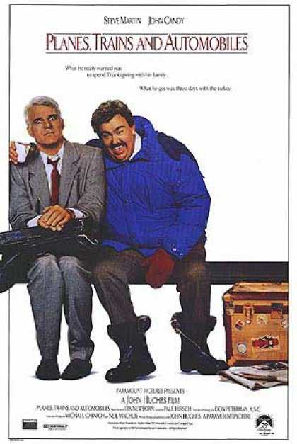 Essential Movies - Planes, Trains And Automobiles Poster
