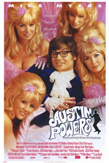 Essential Movies - Austin Powers: International Man Of Mystery Poster