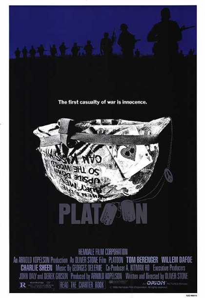Essential Movies - Platoon Poster
