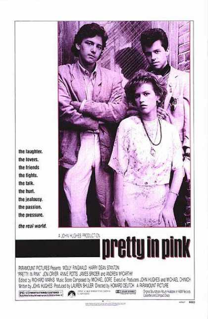 Essential Movies - Pretty In Pink Poster