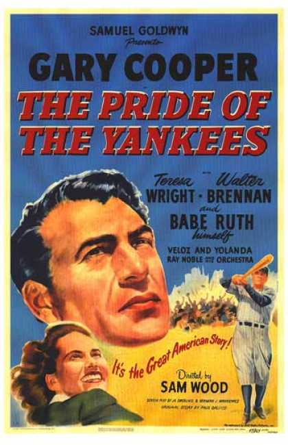 Essential Movies - Pride Of The Yankees Poster