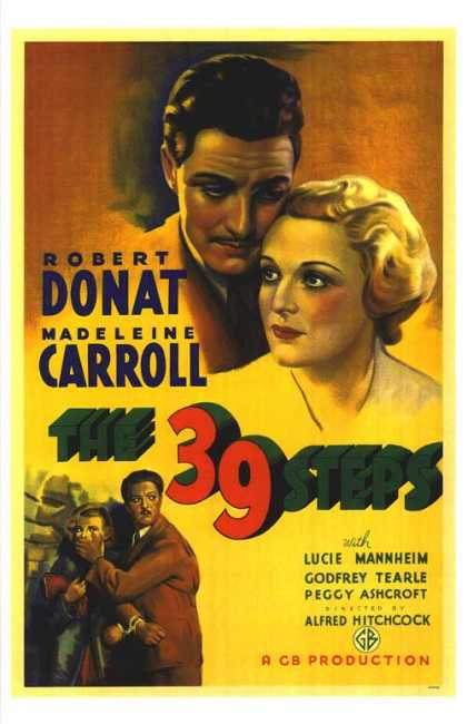 Essential Movies - 39 Steps Poster