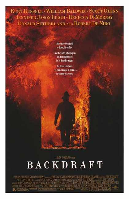 Essential Movies - Backdraft Poster