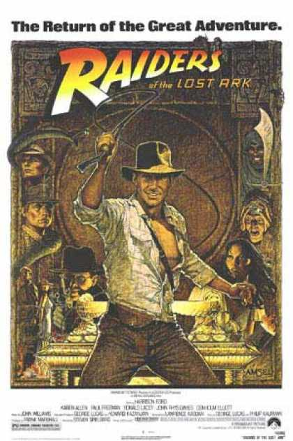 Essential Movies - Raiders Of The Lost Ark Poster