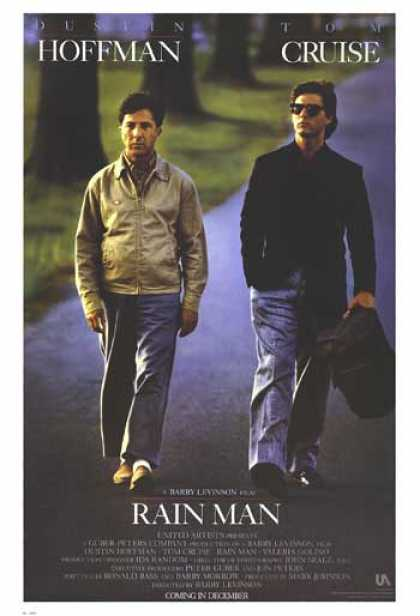 Essential Movies - Rain Man Poster