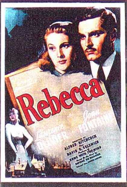 Essential Movies - Rebecca Poster