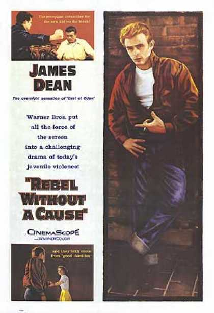 Essential Movies - Rebel Without A Cause Poster