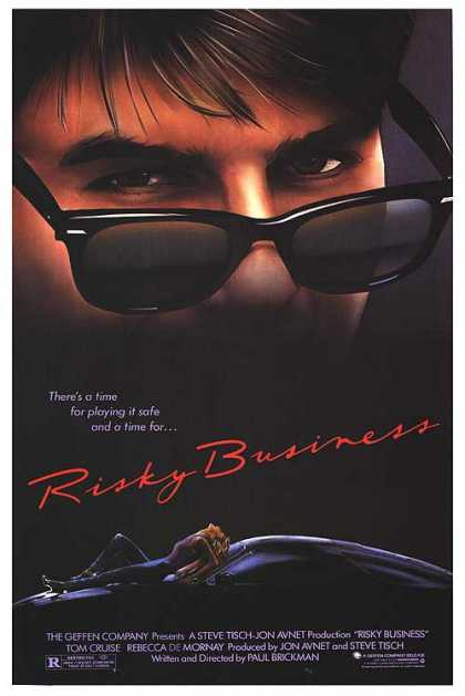 Essential Movies - Risky Business Poster