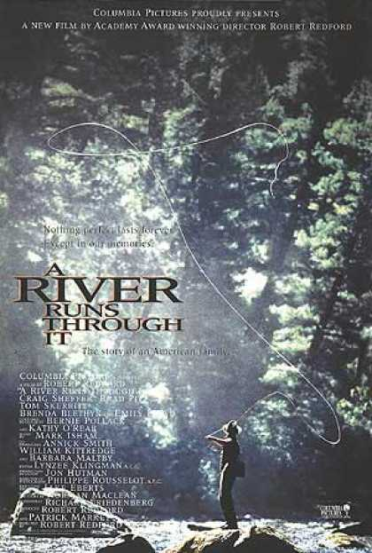 Essential Movies - River Runs Through It Poster