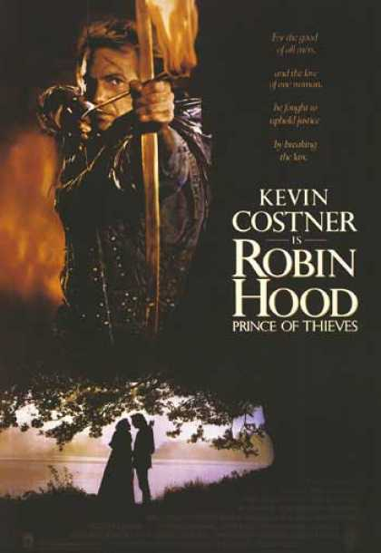Essential Movies - Robin Hood: Prince Of Thieves Poster