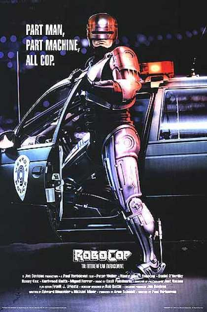 Essential Movies - Robocop Poster