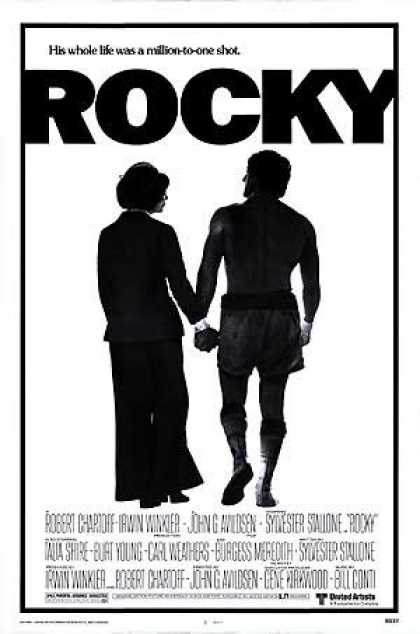 Essential Movies - Rocky Poster