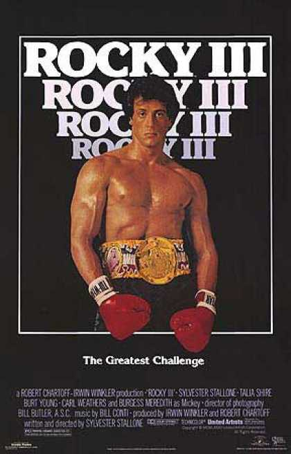 Essential Movies - Rocky Iii Poster