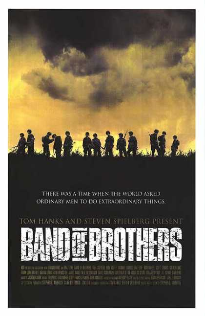Essential Movies - Band Of Brothers Poster
