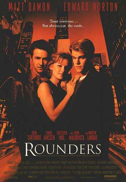 Essential Movies - Rounders Poster
