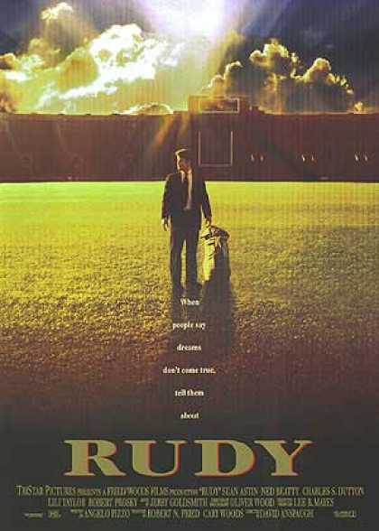 Essential Movies - Rudy Poster