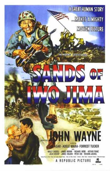 Essential Movies - Sands Of Iwo Jima Poster