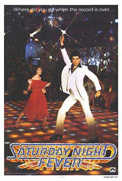 Essential Movies - Saturday Night Fever Poster