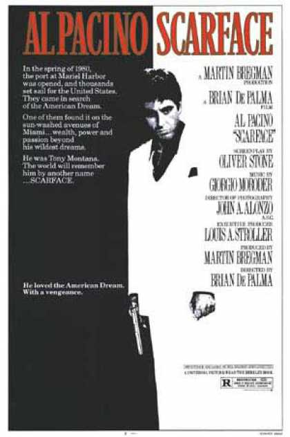 Essential Movies - Scarface Poster