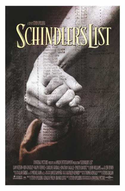 Essential Movies - Schindler's List Poster