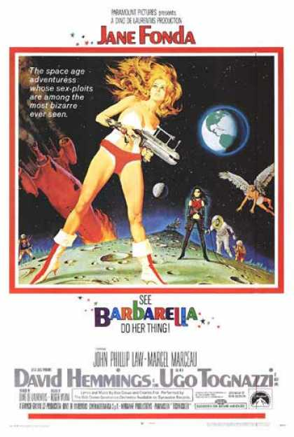 Essential Movies - Barbarella Poster