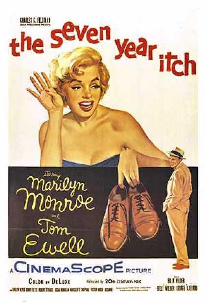 Essential Movies - Seven Year Itch Poster