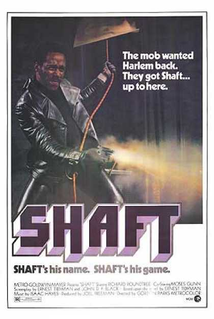 Essential Movies - Shaft Poster