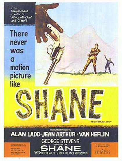 Essential Movies - Shane Poster