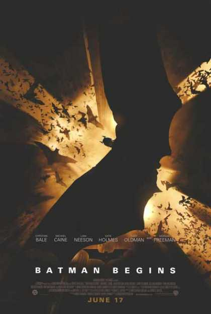 Essential Movies - Batman Begins Poster