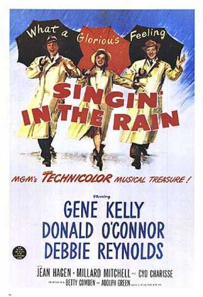 Essential Movies - Singin' In The Rain Poster