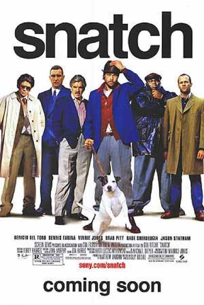 Essential Movies - Snatch Poster