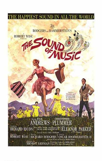 Essential Movies - Sound Of Music Poster