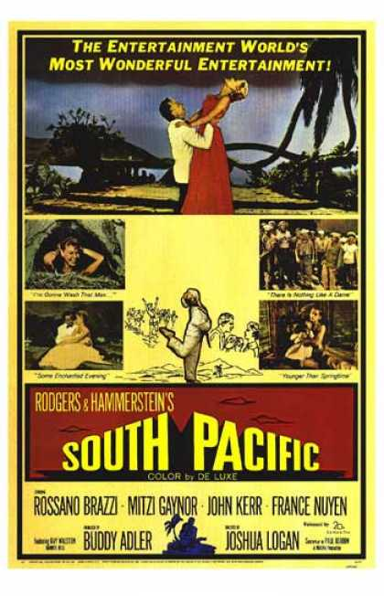 Essential Movies - South Pacific Poster