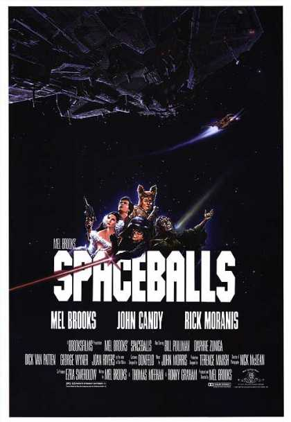 Essential Movies - Spaceballs Poster