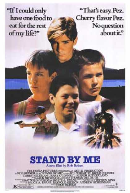 Essential Movies - Stand By Me Poster
