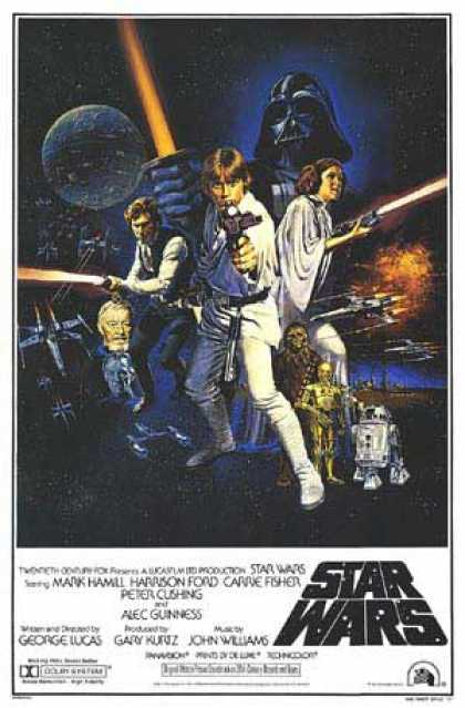 Essential Movies - Star Wars Poster