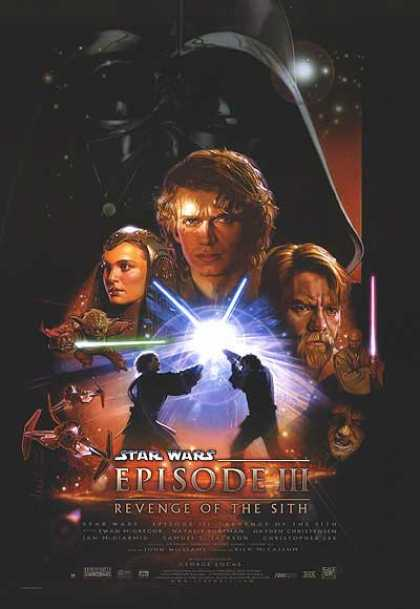 Essential Movies - Star Wars: Episode Iii - Revenge Of The Sith Poster