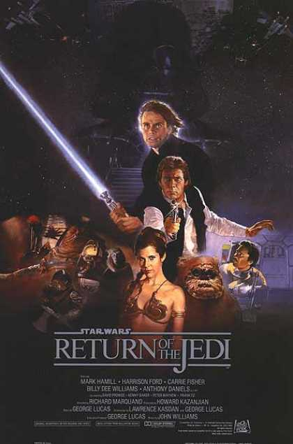 Essential Movies - Star Wars: Episode Vi - Return Of The Jedi Poster
