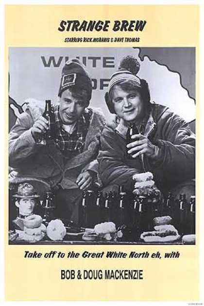 Essential Movies - Strange Brew Poster