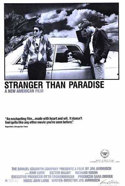 Essential Movies - Stranger Than Paradise Poster