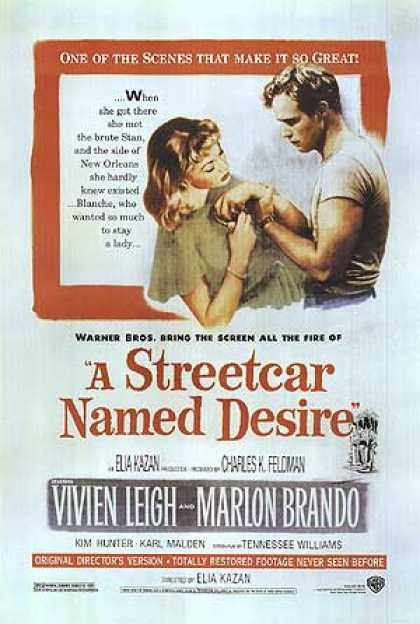 Essential Movies - Streetcar Named Desire Poster